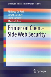 Master thesis web security